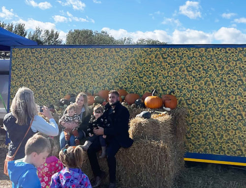 Photo opportunities at the Pumpkin Patch 2021